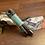 """Thumbnail: Schlüsselanhänger """"grau-mint"""""""