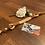 Thumbnail: Tau-Leder Halsung mit Ledertakling verstellbar, Tauwerk gedreht