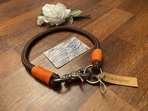 Lakritzpfote Standard-Halsband (einfache Halsung), Tauwerk in 10mm