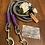 Thumbnail: Führleine grau-lila