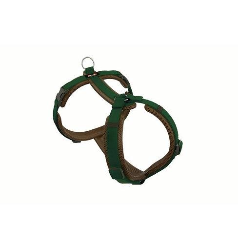 Dogfellow Brustgeschirr Happy, Farbe: braun-tannengrün