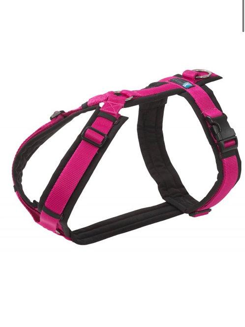 Anny x Brustgeschirr FUN, Farbe : schwarz-pink