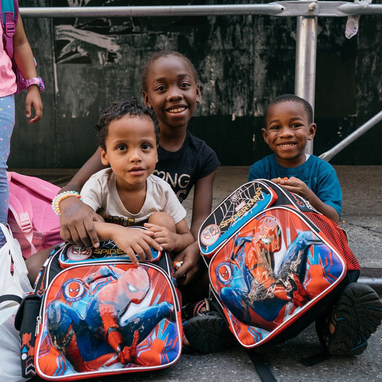 Hearts of Gold Back to School Backpack Event