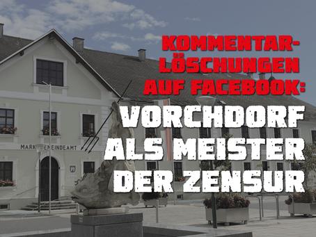 Marktgemeinde Vorchdorf als Meister der Zensur