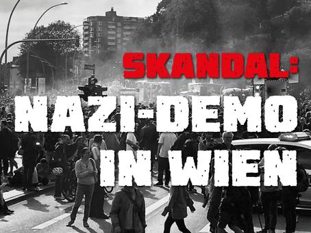 Skandal: Illegale Nazi-Demo in Wien