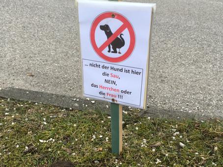 Vorchdorf liebt Hunde - Oder: Über männliche(?) und weibliche Sauen
