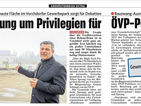 ÖVP-Vorchdorf: Ein Manifest zwischen Willkür, Privilegien und Freunderlwirtschaft