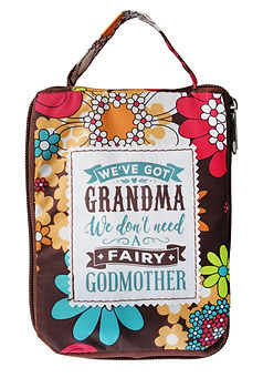 Fab Girl Tote Bag: We've got a grandma, we don't need a fairy godmother.