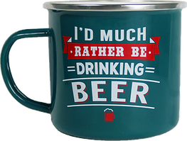 Top Guy Mug: I'd much rather be drinking beer