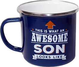Top Guy Mug: This is what an awesome son looks like