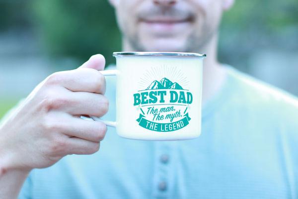 Top Guy Mug: Best dad, the man the myth the legend