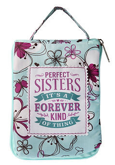 Fab Girl Tote Bag: Perfect sisters, it's a forever kind of thing.