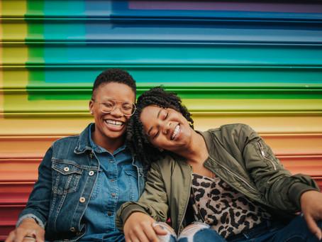 A Colorful Blagden Alley DC Couple Session // DC Photographer