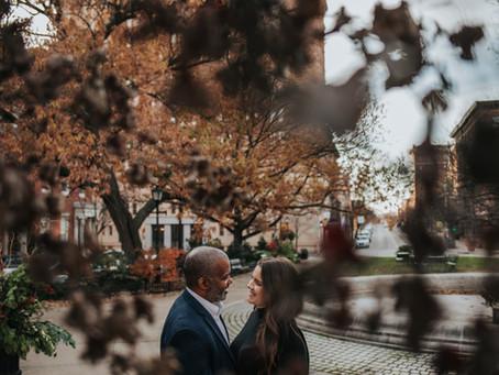 Engagement Session // Washington Monument // Mt. Vernon