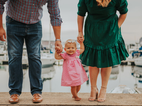 Family Session // Locust Point, Baltimore MD