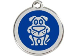 Blue Dog Tag