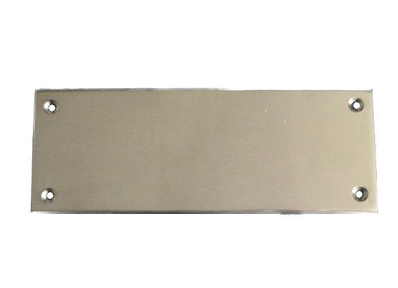 Brass Nameplate - K