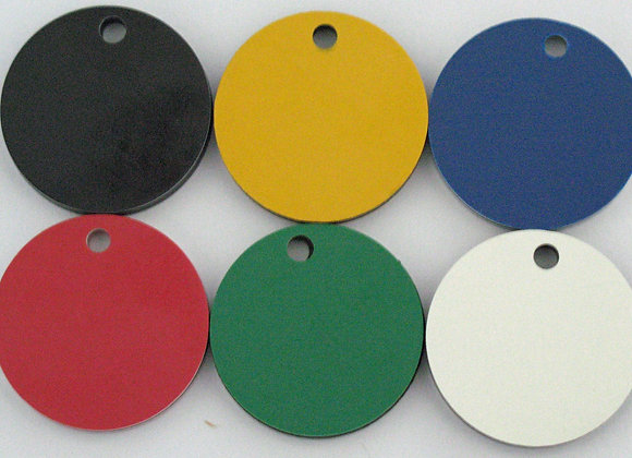 25mm Acrylic Rounded Pet Tag