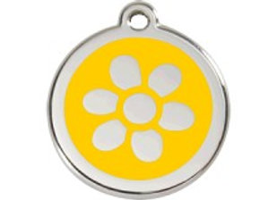 Yellow Flower Tag