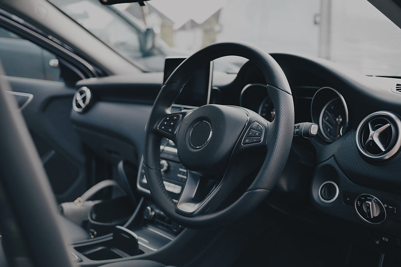 Car dashboard and air vents
