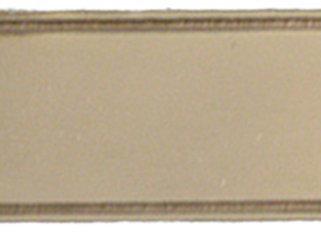 Brass Nameplate - L
