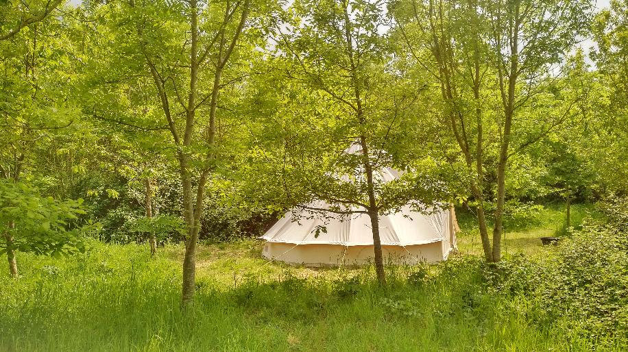 Bell tent glamping in Somerset.jpeg