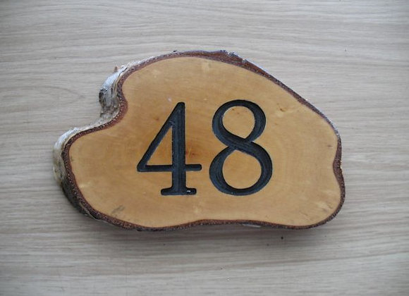 Rustic Wooden Sign - Small