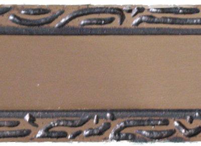 Brass Nameplate - C