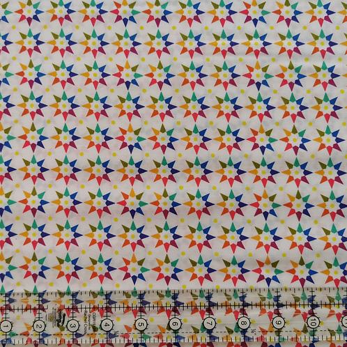 Alison Glass Art Theory Rainbow Star White
