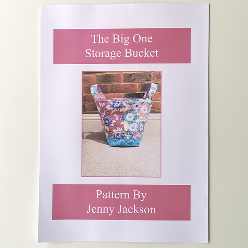 The Big One Storage Bucket PDF Pattern ONLY