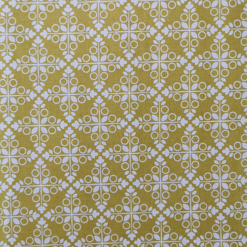 Garden Party yellow/mustard Half metre