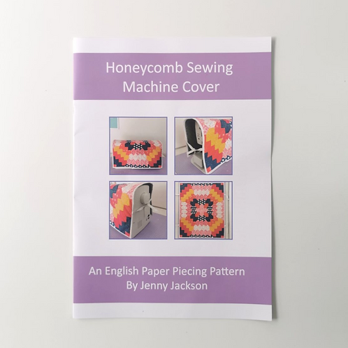 Honeycomb Sewing Machine Cover PDF DOWNLOAD ONLY