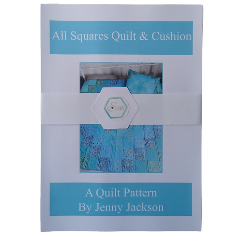 All Squares Quilt and Cushion Paper Pattern