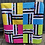 Thumbnail: Rotated Strip Quilt PDF Download Pattern ONLY