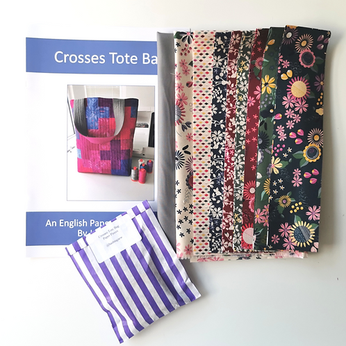 Crosses Tote Bag Kit Autumntime Colourway