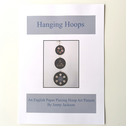 Hanging Hoops Paper Pattern ONLY