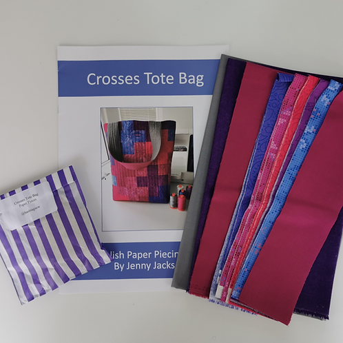 Crosses Tote Bag Kit Indian Summer Colourway