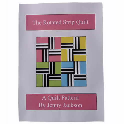 Rotated Strip Quilt PDF Download Pattern ONLY