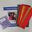 Thumbnail: Crosses Tote Bag Kit Sunburst Colourway
