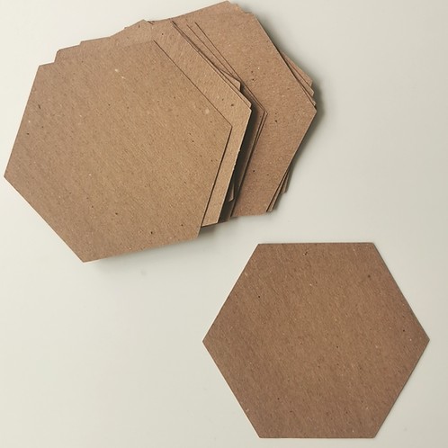 Hexangles Quilt Pack of 25 large Hexagons