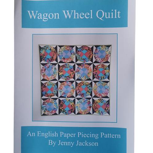 Wagon Wheel Epp Quilt PDF DOWNLOAD Pattern