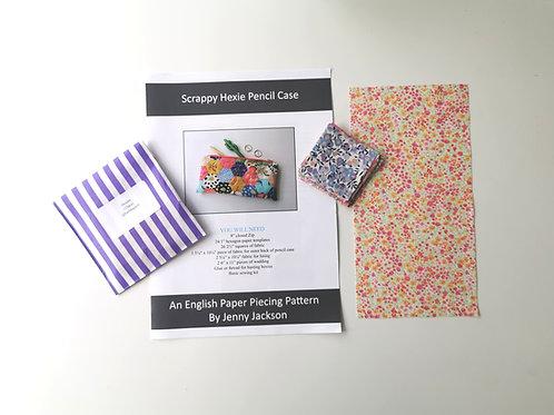Scrappy Hexie Pencil Case Kit 8