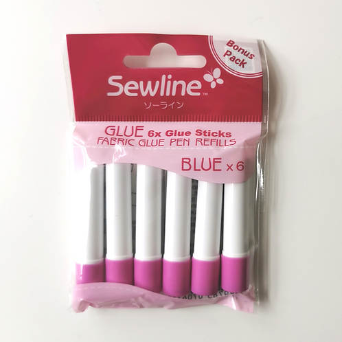 Sewline Glue Pen refills (6 Pack)