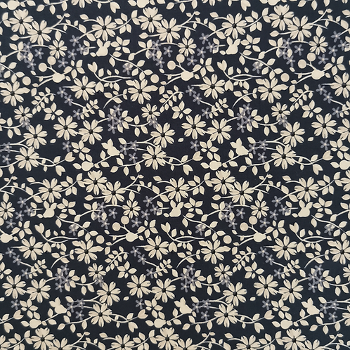 Rosewood Blue Ditsy Flowers FQ