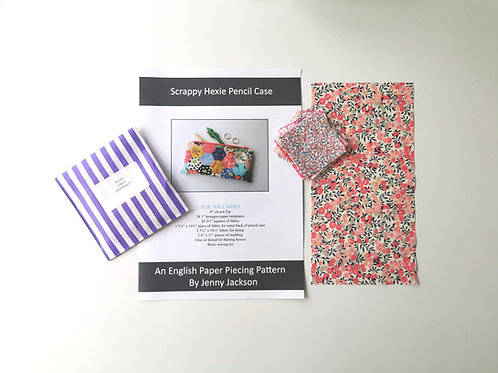 Scrappy Hexie Pencil Case Kit 7