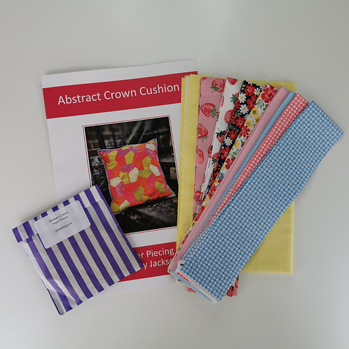 Abstract Crown Epp Cushion Kit Strawberry Jam colourway