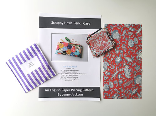 Scrappy Hexie Pencil Case Kit 5