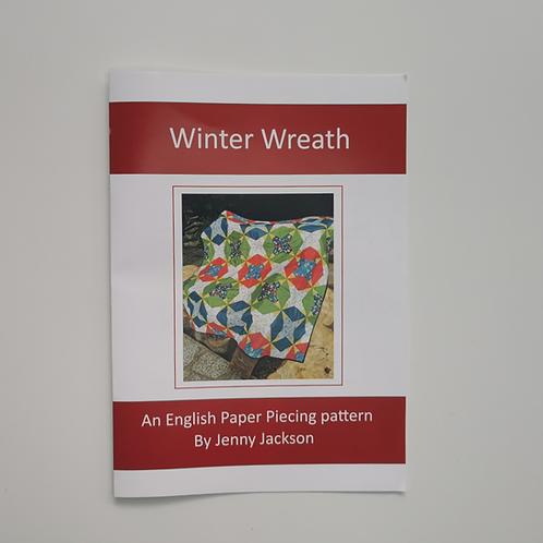 Winter Wreath Paper Pattern ONLY
