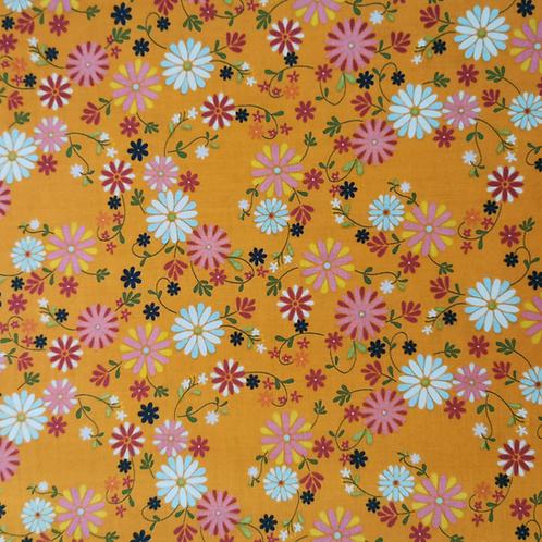 Garden Party Orange Floral FQ