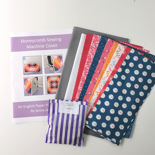 Honeycomb Sewing Machine Cover Kit - Summer Garden